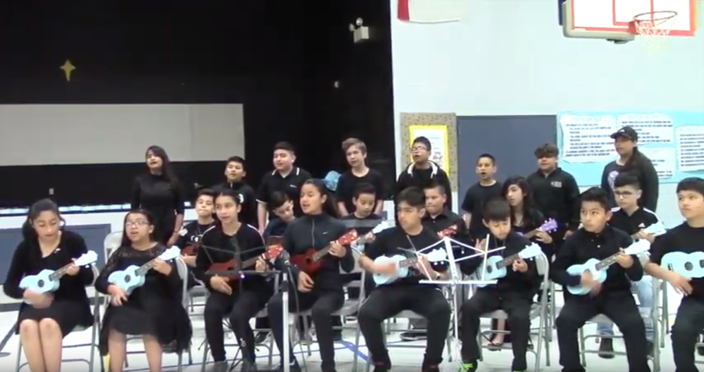 DUSD Elementary Music Program: Youtube Video at (search: dusd music concert - spring 2019 harmony elem) https://www.youtube.com/watch?time_continue=507&v=oUZHP6gRkUQ